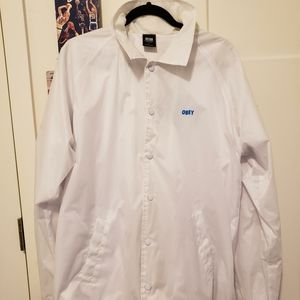 White Obey WindBreaker